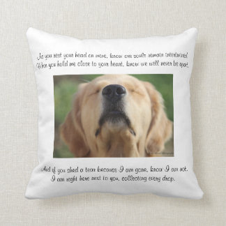 Personalized Remembrance Pillow by Golden Journeys