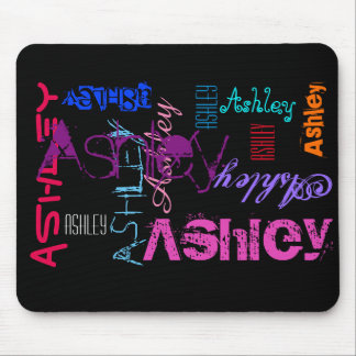 Personalized repeating name 6 letters Mousepad