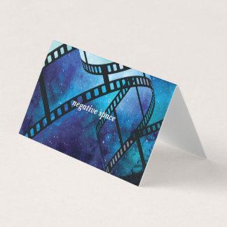 Personalized retro camera space card
