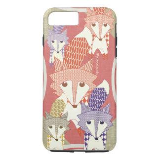 Personalized Retro Fox Art Retro iPhone 7 Plus iPhone 7 Plus Case