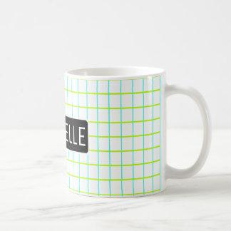 Personalized Retro Graph Coffee Mug