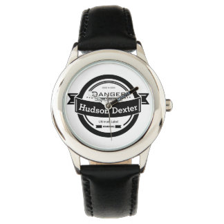 Personalized Retro Hipster Kid's Watch