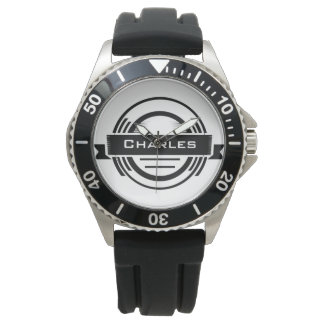 Personalized Retro Hipster Watch