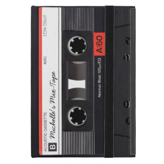Personalized Retro Mix-Tape iPad Mini Case