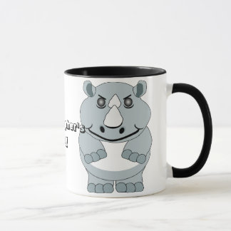 Personalized Rhino Design Mug