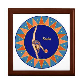 Personalized Rhythmic Gymnastic Jewelry Box