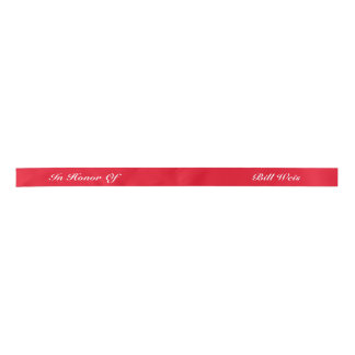 Personalized Ribbon Satin Ribbon