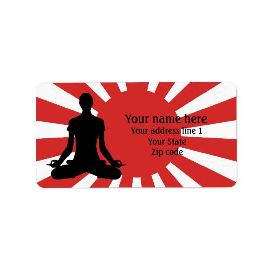Personalized Rising Sun Yoga 4 meditation