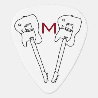 personalized rock music guitar-pick