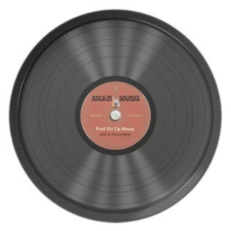 Personalized Rock Vinyl Record Plates