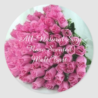 Personalized Rose Stickers
