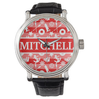 Personalized RS Nautical Wrist Watches
