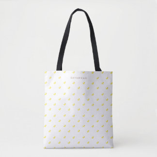 Personalized | Rubber Duckies Tote Bag