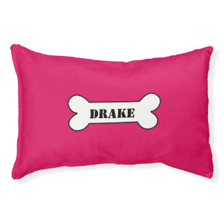Personalized Ruby Small Dog Bed