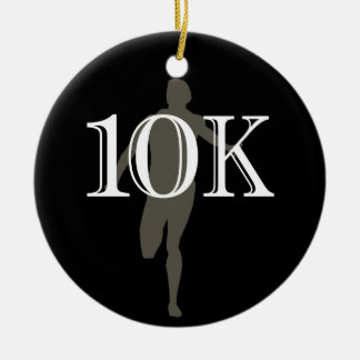 Personalized Runner 10k Cross-Country Keepsake Christmas Ornaments