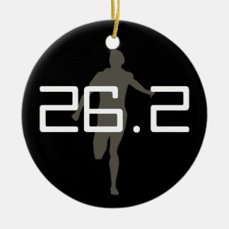 Personalized Runner Marathon Keepsake Ornament