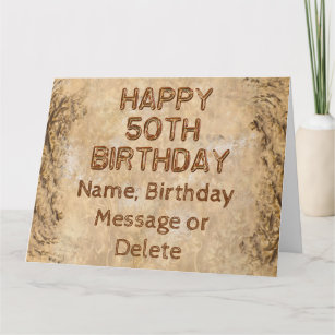 For Him 50th Birthday Cards