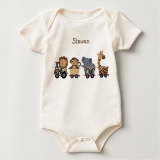 Personalized Safari Express Train Shirt