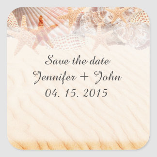 Personalized save the date stickers