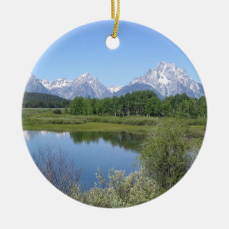 Personalized Scenic Christmas Ornament