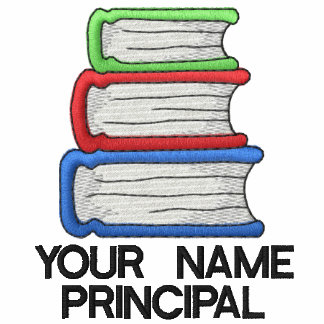Personalized School Principal Womens Jacket