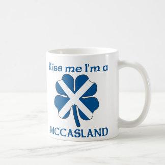 Personalized Scottish Kiss Me I'm Mccasland Classic White Coffee Mug