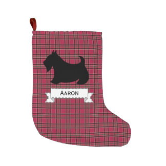 Personalized Scottish Terrier Christmas Stocking