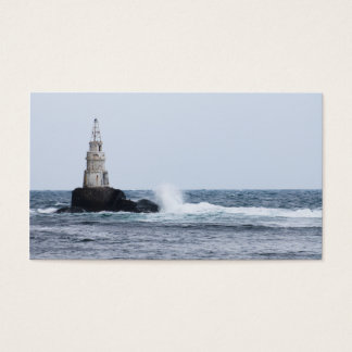 Personalized Seascape with lighthouse Business Card