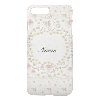 Personalized Seashells and Pearls iPhone 8 Plus/7 Plus Case