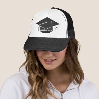 Personalized Senior Class Gals Graduation Hat1 Trucker Hat