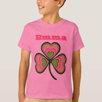 Personalized Shamrock (any name) T-Shirt