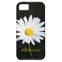 Personalized Shasta Daisy iPhone 5 Vibe Case iPhone 5 Covers