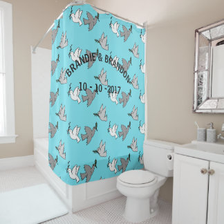 PERSONALIZED SHOWER - BATH CURTAINS