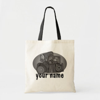 Personalized Shutter Bug Tote Bag
