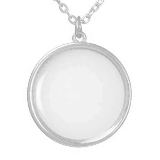 Personalized Silver Plated Necklace