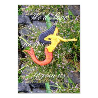 personalized sirena mermaid card