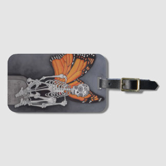 Personalized Skeleton Luggage Tag