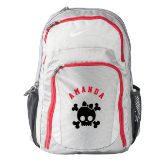 Personalized Skull Backpack