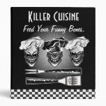 Personalized Skull Chef Binder