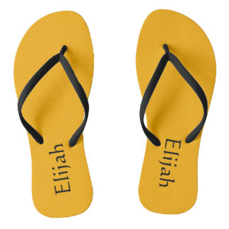 Personalized slippers flip flops