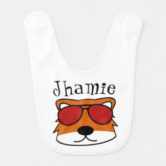 Personalized Sly Fox Bib