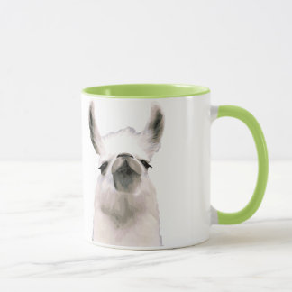Personalized Snooty Snobby Llama Mug
