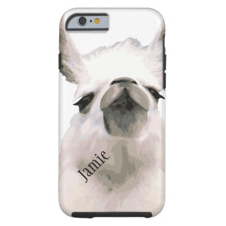 Personalized Snooty Snobby Llama Tough iPhone 6 Case