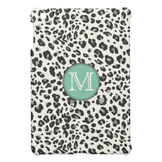 Personalized Snow Leopard Print Case For The iPad Mini