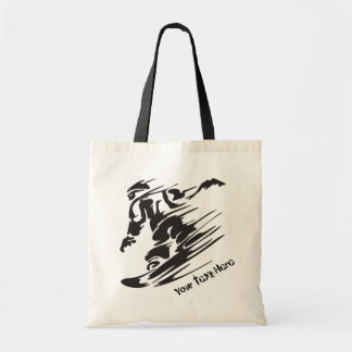 Personalized Snowboarder Snowboarding Mountain