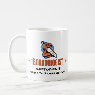 Personalized Snowboarding Coffee Mug