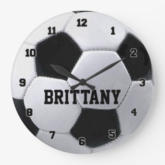 Personalized Soccer Ball Clock