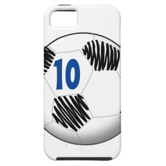 Personalized soccer ball iPhone case