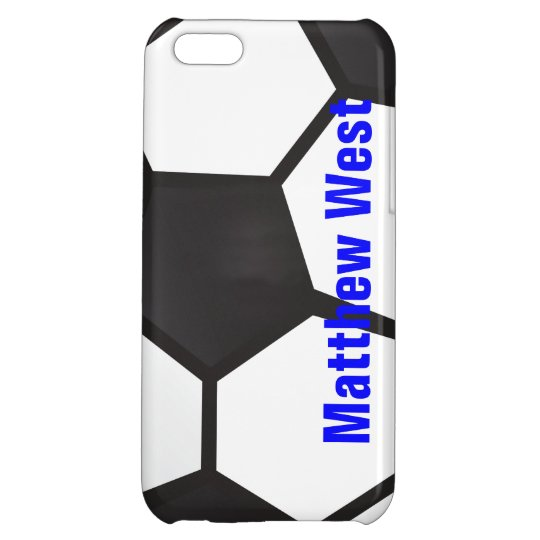 Personalized Soccer Ball iPhone Case Cover For iPhone 5C