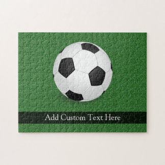 Personalized Soccer Ball Jigsaw Puzzle